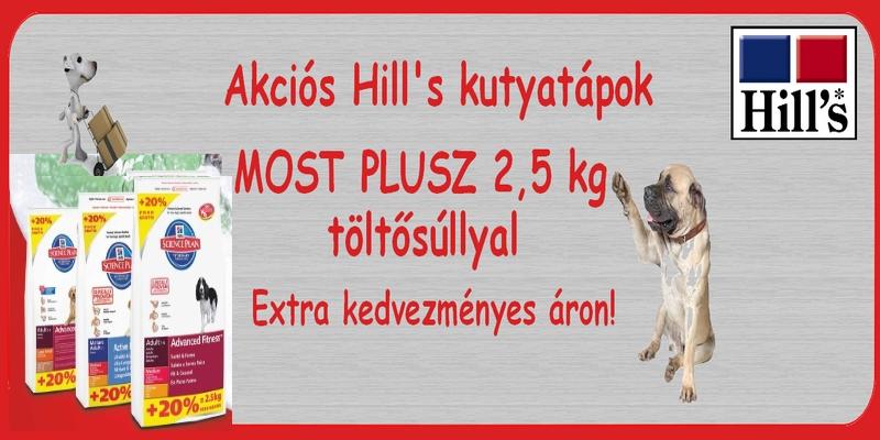 akciós hills kutyatáp