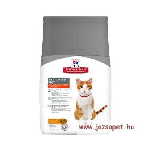 Hill's Feline Sterilised Cat Young Adult Tonhalas táp ivartalanított macskának 1,5 kg