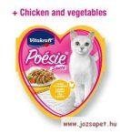 Vitakraft Poésie finom falatok alutasakban macskáknak 85g