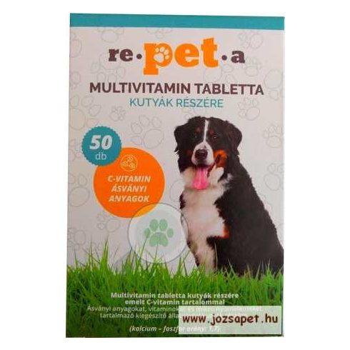 Repeta multivitamin tabletta-kutya
