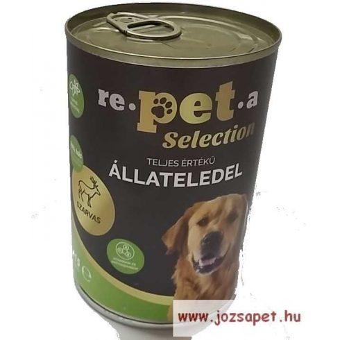 Repeta Selection Kutyakonzerv Szarvas-Csipkebogyó