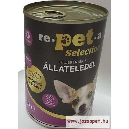 Repeta Selection Kutyakonzerv Vaddisznó-Bárány-Sütőtök 415g