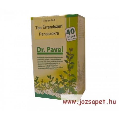 Pavel Vana - Érrendszer Herbal Tea, 40 filter