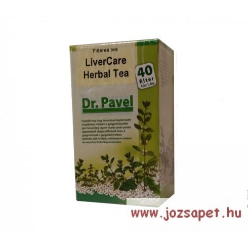 Pavel Vana - LiverCare Tea, 40 filter