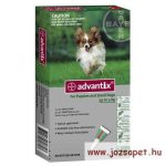 Advantix Spot-On 4kg alatti kutya számára 0,4ml 1 pipetta