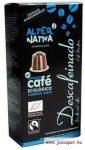 AlterNativa3 Koffeinmentes kávé kapszula, biológiailag lebomló 10db