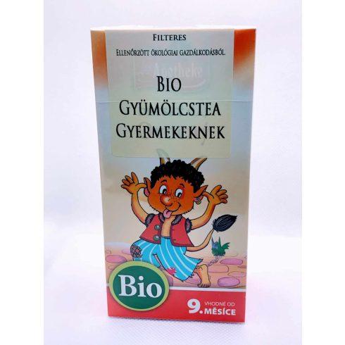 Apotheke - Bio Gyümölcstea Gyermekeknek, 20 filter