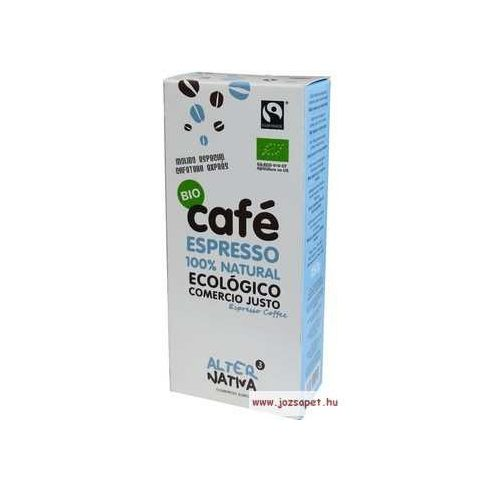 AlterNativa3 Espresso őrölt kávé, Bio, Fair trade
