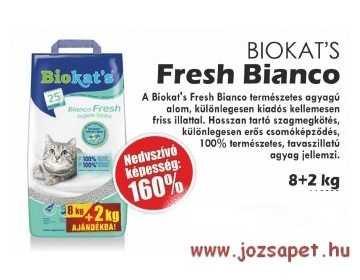 Biokats Fresh Bianco macskaalom 10kg