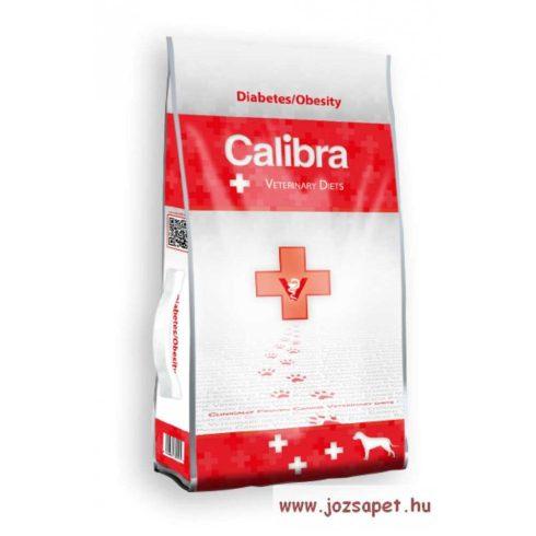 CALIBRA VET Diabetes / Obesity - diétás kutyatáp 2kg