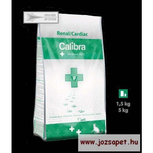 CALIBRA Renal/Cardiac - diétás macskatáp/ gyógytáp 1,5kg
