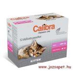 Calibra cat premium kitten alutasakos multipack 12*100g