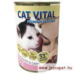 Cat Vital Konzerv macskának, kacsa és pulyka 415g