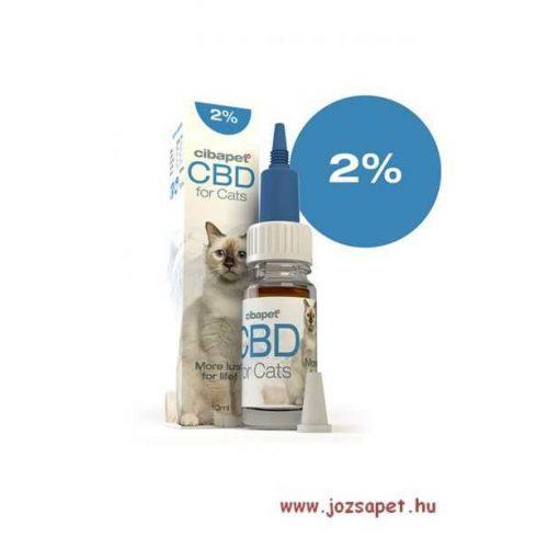 Cibapet CBD olaj 2%-os macska 10ml