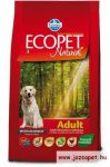 Ecopet Natural Adult Medium 2,5kg kutyatáp