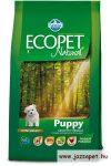 Ecopet Natural Mini Puppy 2,5kg száraztáp kistestű kölyökkutyának