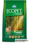 Ecopet Puppy 2,5 száraztáp kölyökkutyáknak