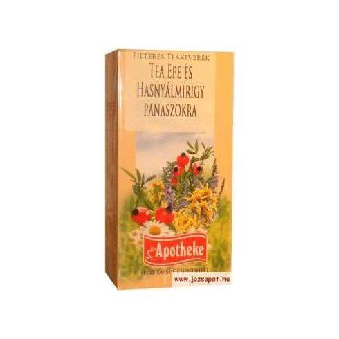 Apotheke - Herbal Tea Epe és Hasnyálmirigy Panaszokra, 20 filter