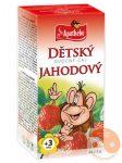 Apotheke - Gyümölcstea Gyermekeknek Eperrel - Majom, 20 filter