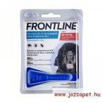 Frontline Spot On L kullancs, bolha ellen közepes (20-40kg) kutya számára