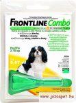 Frontline Combo kutya S 2-10 kg 0.67 ml