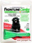 Frontline Combo XL 40kg feletti kutyának 4ml