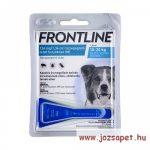 Frontline Spot On M kullancs, bolha ellen kistestű (2-10kg) kutya számára