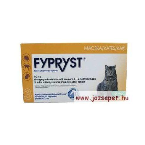 Fypryst spot-on macska, 0,5 ml bolha, kullancs elleni rácsepegtető oldat
