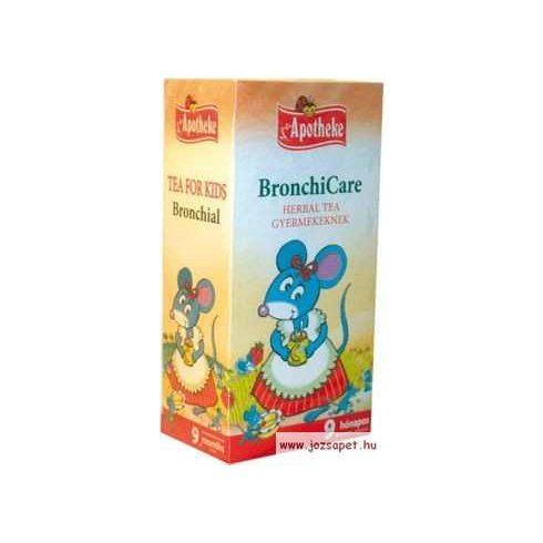 Apotheke - BronchiCare Herbal Tea Gyermekeknek, 20 filter