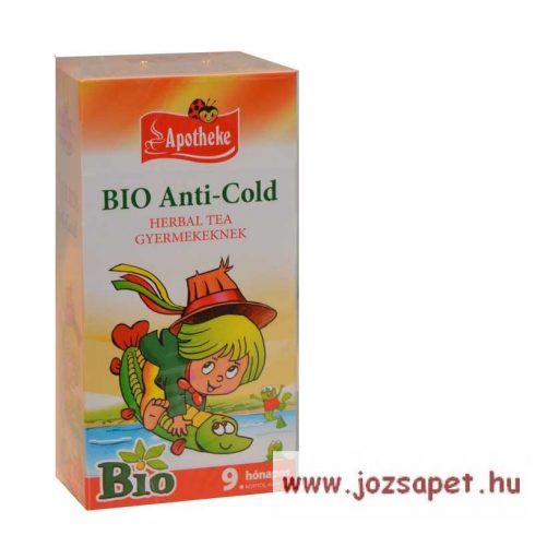 Apotheke - Bio Anti-Cold Herbal Tea Gyermekeknek, 20 filter