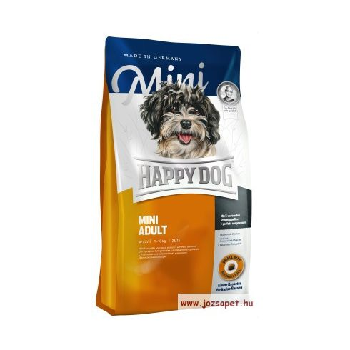 Happy dog adult mini     www.jozsapet.hu