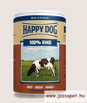 Happy Dog kutya konzerv, marhás