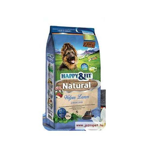 Happy&Fit Natural Welpen Lamm kölyök kutyatáp 12kg