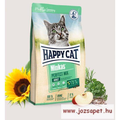 Happy Cat Minkas Mix macskatáp hallal és szárnyashússal 4 kg
