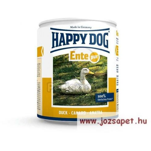 Happy Dog Pur kacsás kutyakonzerv 12*200g