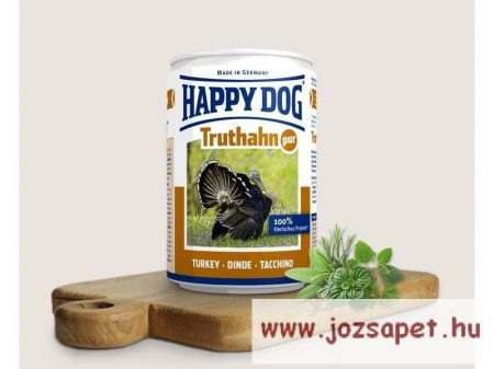 Happy Dog Pur pulykás konzerv  6*800gr