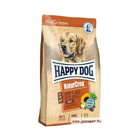 Happy Dog Natur-Croq Rind & Reis (marha és rizs) 15kg  kutyatáp
