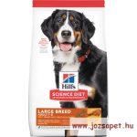 Hill's Canine Adult Large Breed csirkés kutyatáp 18kg tenyésztői kiszerelés, Breeder