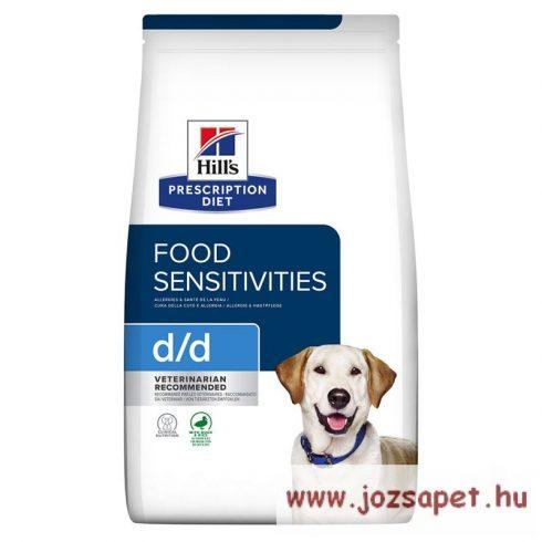 Hills Prescription Diet™ Canine d/d kutyatáp Duck & Rice 2 kg