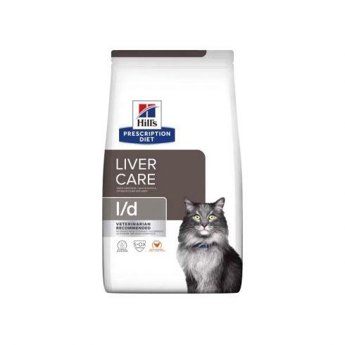 Hills Prescription Diet  Feline l/d macskatáp májbetegségben szenvedő cicáknak 1,5 kg