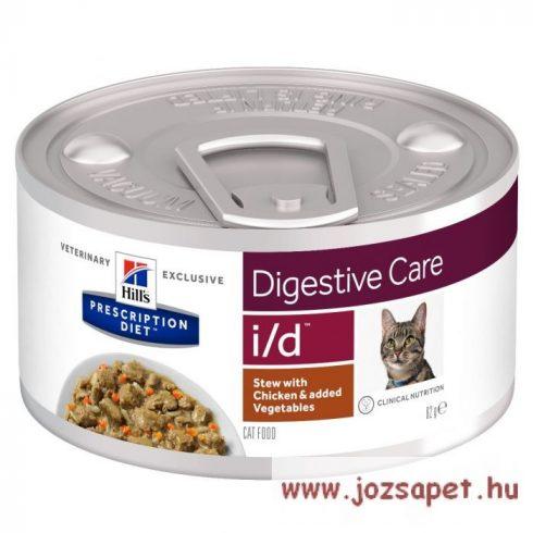 Hills Prescription Diet  Feline i/d konzerv cicáknak 156g