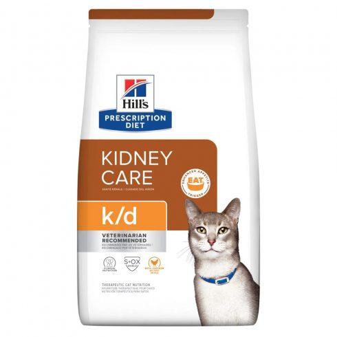 Hills Prescription Diet  Feline k/d macskatáp 400g