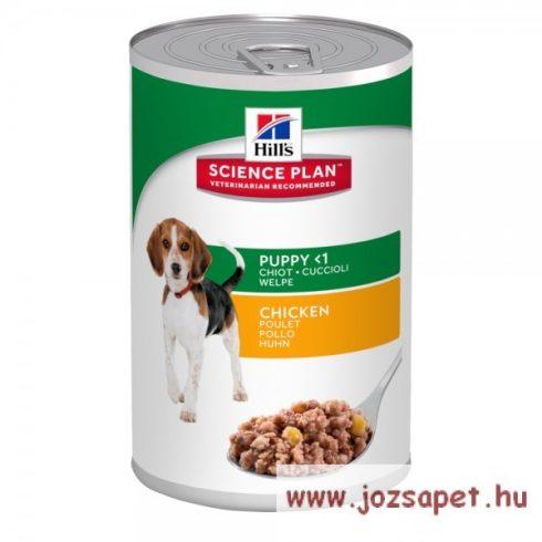 Hill's Canine Puppy Chicken konzerv kölyökkutyáknak, csirkés