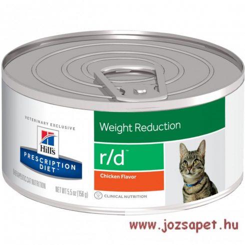 Hills Prescription Diet  Feline r/d konzerv 156 g elhízott cicák részére