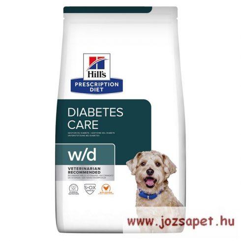 Hill's Prescription Diet Canine  W/D kutyatáp 4 kg