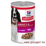 Hill's Canine adult beef, marhahúsos konzerv kutyáknak 370g