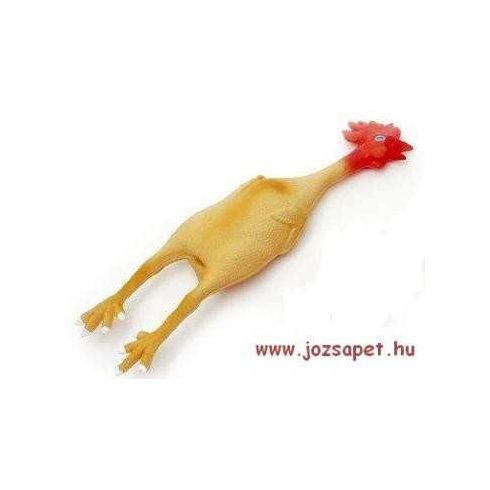 Latex Csirke---Vicces ajándék kutya Gazdiknak 15cm-es