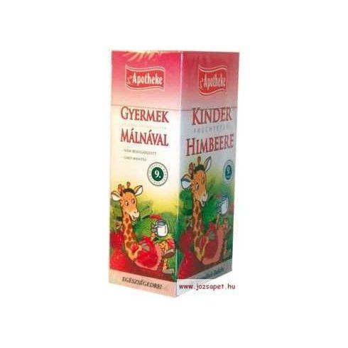 Apotheke - Gyümölcstea Gyermekeknek Málnával - Zsiráf, 20 filter