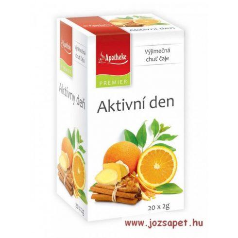 Apotheke - Aktív Nap - Fűszeres Mate Tea, 20 filter - Premier Selection