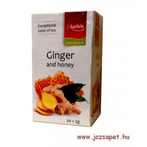 Apotheke - Gyömbér és Méz Tea, 20 filter